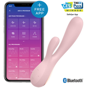Mono Flex - Vibrator Rabbit Smart by Satisfyer | Roz0