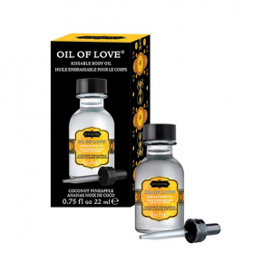 Oil of Love Kissable Body Oil Coconut Pineapple 22 m1