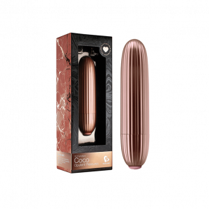 Coco Bullet Vibrator Rose Gold0